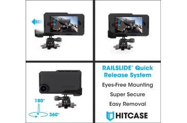 Hitcase StickR Base, Black, 6in x 8.27in x 0.47in HC22200
