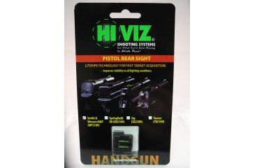 Hiviz MP2109-G, S&W M&P Rear Sight Green MP2109-G