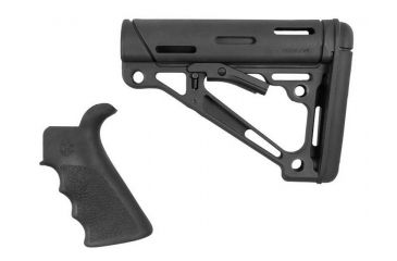 2-Hogue Mil-Spec Buffer Tube Collapsible Buttstock AR15/M16 Kit
