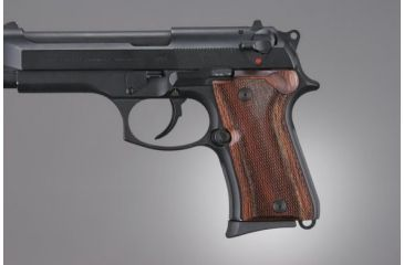 Hogue Beretta 92 Compact Rose Lam. Checkered 93511