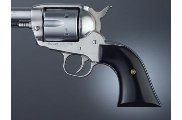 Hogue Ruger Blackhawk/Vaquero Handgun Grip Bl  Micarta Cowboy Panels 83470