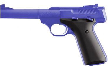 Hogue Aluminum Matte Black Anodized Grip - Browning Buckmark - 72160