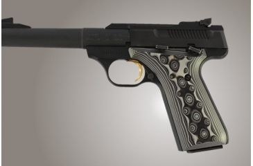 Hogue Browning BuckMark G-10 - G-Mascus Black/Gray 72167-BLKGRY