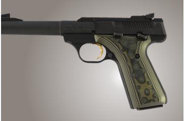 Hogue Browning Buckmark G 10 Od Green Camo 72168