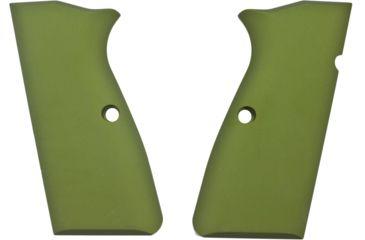 Hogue Browning Hi-Power Aluminum - Matte Green Anodized 09161