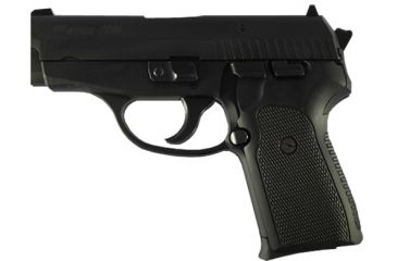 Hogue Checkered G-10 Grip, Black - SIG Sauer P239 - 31179