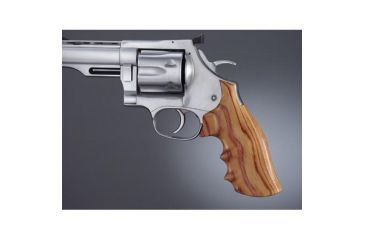 Hogue Dan Wesson Large Frame Tulipwood Big Butt, Checkered 58725