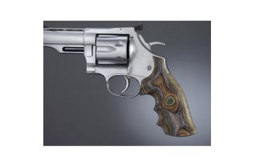 Hogue Dan Wesson Lg. Frame Lamo Camo No Finger Groove, Big Butt 58434