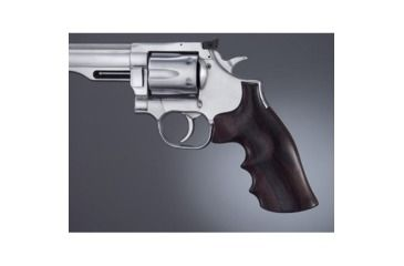 Hogue Dan Wesson SmallFrame Rosewood Big Butt, Checkered 57925