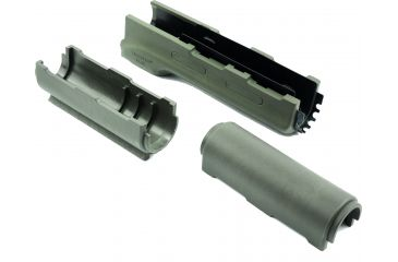 Hogue Forend w/OD Green Rubber Gripping Area - AK-47/AK-74 Standard Chinese and Russian - 74204