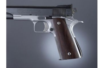 Hogue Govt. Model Rosewood S&A Mag.-Well, Ambi. Cut 45930