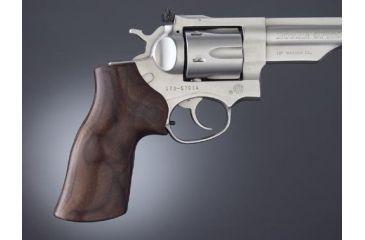 Hogue Ruger GP100/Super Redhawk Handgun Grip Pau Ferro No Finger Groove  80310