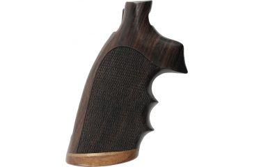 Hogue Handgun Grip, Rosewood Stripe, Cap Checkered 42921