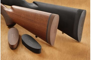 Hogue EZG Pre-sized recoil pad Mossberg 500 wood Stock - Brown 05711