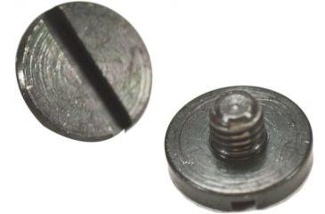 Hogue P85-91 and P94 Gun Grip Screws 2 Slotted, Black 85008