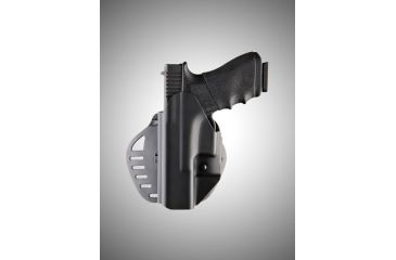 Hogue Powerspeed PS-C1 Glock 17 Conceal Carry Left Hand Holster Black 52117