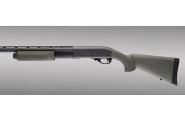 Hogue Remington 870 OverMolded Shotgun Stock kit with forend OD Green 08212