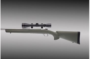 Hogue Ruger 77 Mkii L A In Bin Barrel Full Length Bed Block Stock Od Green 77223