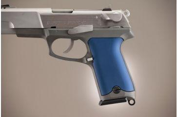 Hogue Ruger P85 - P91 Aluminum - Matte Blue Anodized 85163