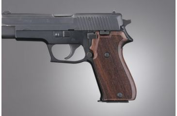Hogue SIG Sauer P220 Rosewood American Model Checkered 20911