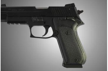 Hogue Sig Sauer P220 Sao American Checkered G 10 Black 21159