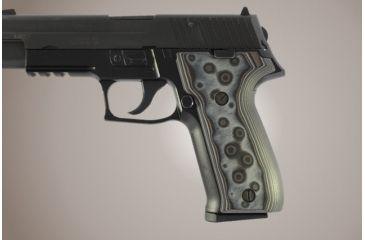 Hogue SIG Sauer P226 DAK G-10 - G-Mascus Black/Gray 26147-BLKGRY