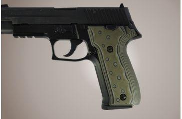 Hogue Sig Sauer P226 Dak G 10 Od Green Camo 26148