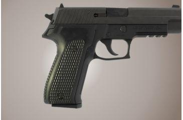 Hogue SIG Sauer P226 Piranha Grip G-10 - Solid Black 26139