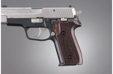 Hogue SIG Sauer P228, P229 Rosewood Checkered 28911
