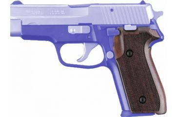Hogue SIG Sauer P228, P229 Rosewood Checkered 28911