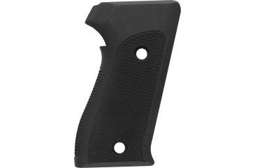 Hogue SIG Sauer P225 Checkered Aluminum - Matte Black Anodized 27170