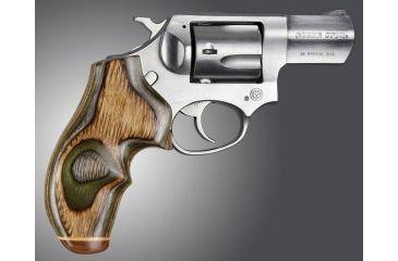 Hogue Ruger SP101 Handgun Grip Lamo Camo No Finger Groove Big Butt