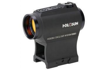 1-Holosun HS503BU Micro Red Dot Sight