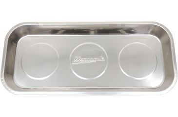 Homak 14in Rectangular Stainless Steel Magnetic Tray HA01014000