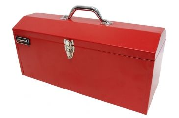 Homak 19in Red Metal High Toolbox w/ Black Metal Tray RD00119819