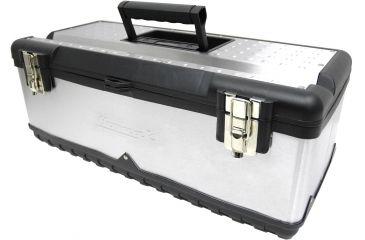Homak 23in Stainless Steel Toolbox SS00122500