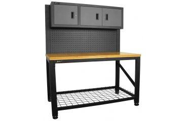 Homak 59in Garage Series Work Station, Gray GS00659031