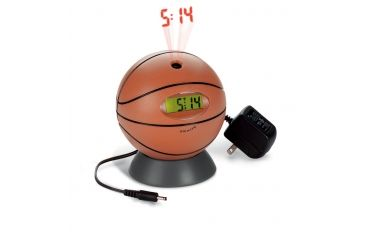 Honeywell Quartz/Projection Basketball Alarm Clock with AC Adapter PC07