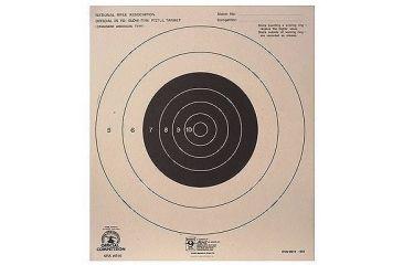 Hoppes 25 yd Slow Fire Center 10 1/2x12 Target B16