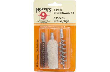 Hoppes 3pk Brush / Swab 20 Gauge