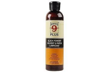 Hoppes 9 Plus Black Powder Solvent & Patch Lubricant 8oz. Bottle
