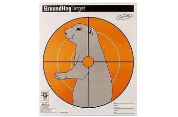 Hoppes Ground Hog Paper Target CT2