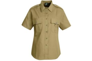 Horace Small New Dimension Stretch Poplin Shirt , Silver Tan, SSL HS1269SSL