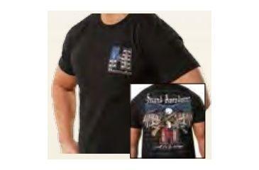 Hornady 2Nd Amendment Tshirt Lg, Black 99672L