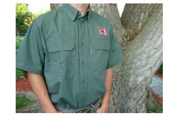 Hornady 5.11 Tactical Short Sleeve Shirt, Od Green, 2XL 9975XXL