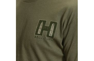 Hornady T-Shirt, Sage & Tan, Medium 9974M