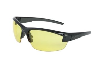 Howard Leight Uvex Mercury Eyewear Black Frame Amber Lens