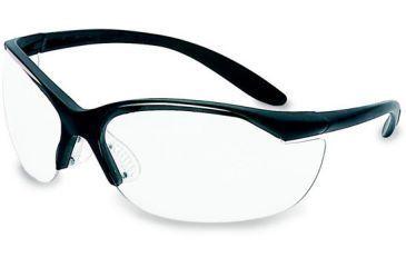 Howard Leight Vapor 2 Light Weight Protective Eyeglasses Black Frame / Clear Lens