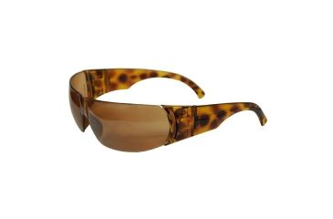 Howard Leight W300 Series Women's Tortoise Shell Eyewear, Autumn Rose Lens HR-01705