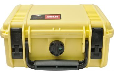 HPRC 2100 Hard Case with Cubed Foam Yellow